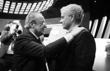 FOOT - 69 EME CONGRES DE LA FIFA - 2019 05/06/2019  CONGRES DE LA FIFA PARC DES EXPOSITIONS PARIS FRANCE perez (florentino) mourinho (jose) PRESSE SPORTS MOUNIC ALAIN