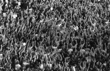 """The movement Real democracy now and 15 M """" appeared on 15 May, remain encamped in Puerta del Sol in Madrid to protest against the political and financial situation in Spain. El movimiento """" Democracia real ya y 15 M """" surgido el 15 de mayo, acampa en la Puerta del Sol de Madrid en protesta por la situacion politico - finaciera en Espa–a. Photo by Jose Luis Cuesta 261/cordon press"""