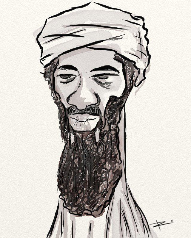 Bin Laden duerme con los peces