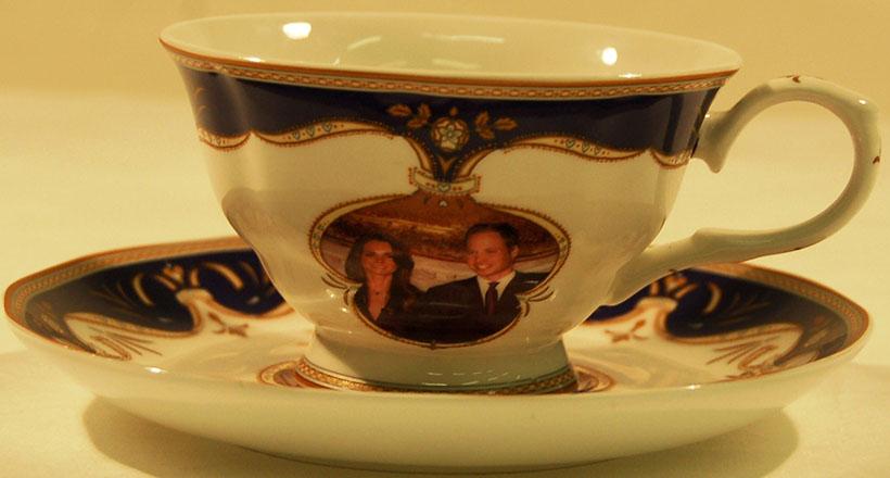 Royal Wedding Cup and Saucer