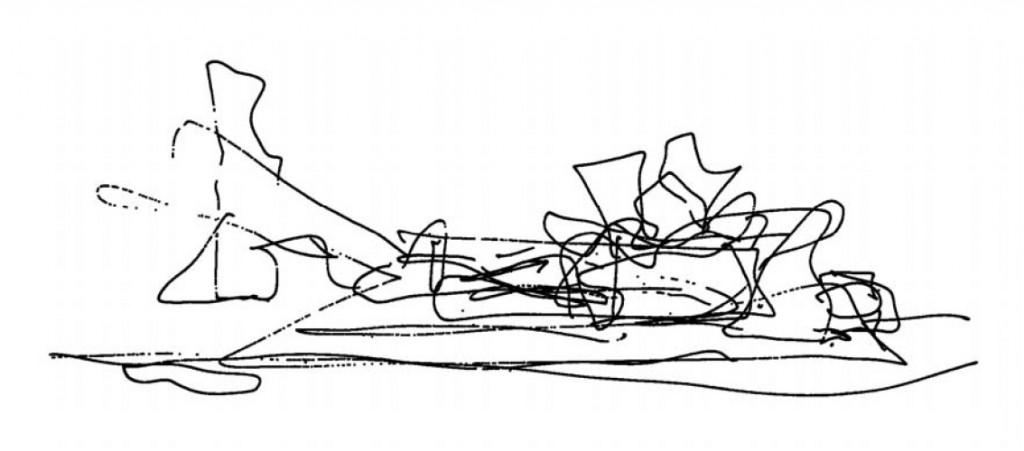 0 Frank Gehry Guggenheim boceto invertido
