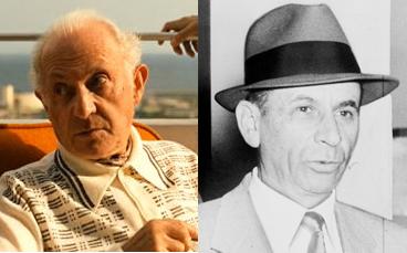Hyman Roth y Meyer Lansky