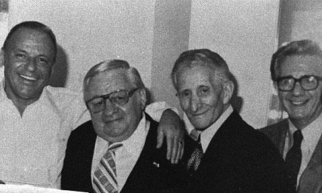 Frank Sinatra y Carlo Gambino