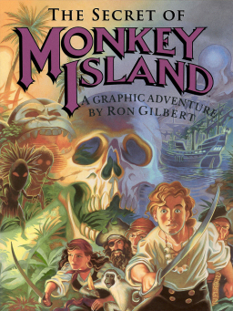 The Secret of Monkey Island artwork