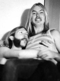 Duane y Gregg en 1971