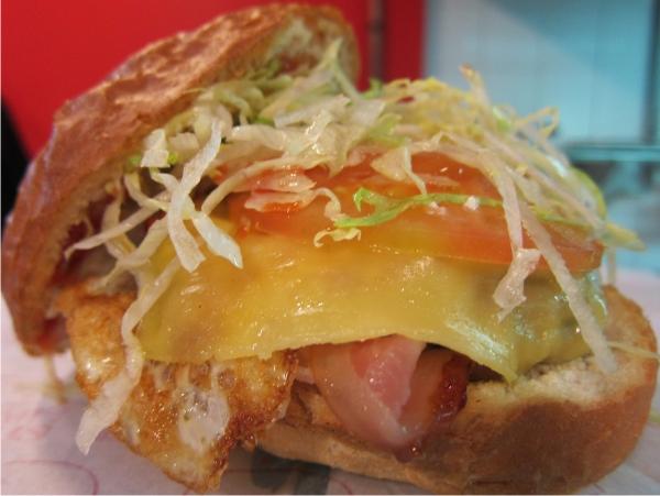 hamburguesa Pim Pam Burger