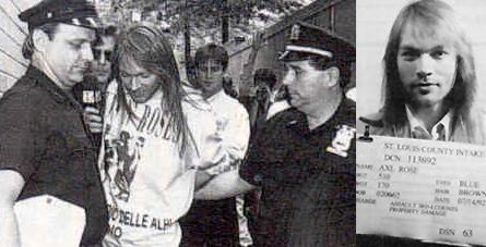 Axl detenido