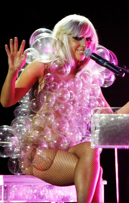 Vestido de burbujas