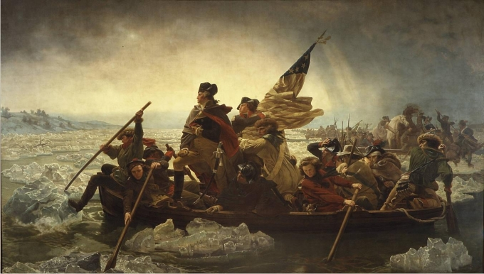 Emanuel Leutze Washington Crossing the Delaware 1851