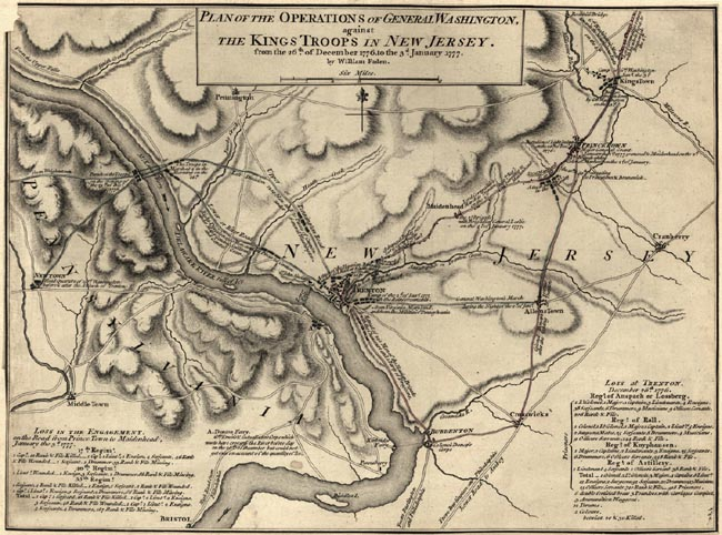trenton battle map 650