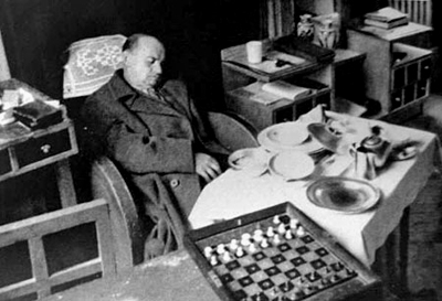 Alekhine muerto