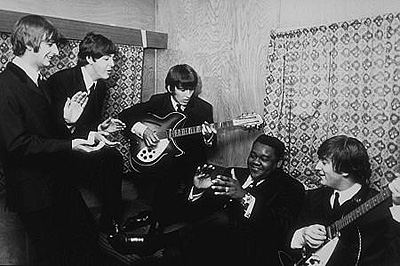 Beatles con Fats Domino