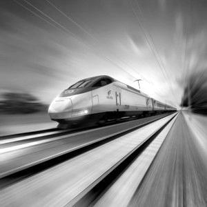 Velocidad de los ferrocarriles