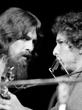 Harrison y Bob Dylan