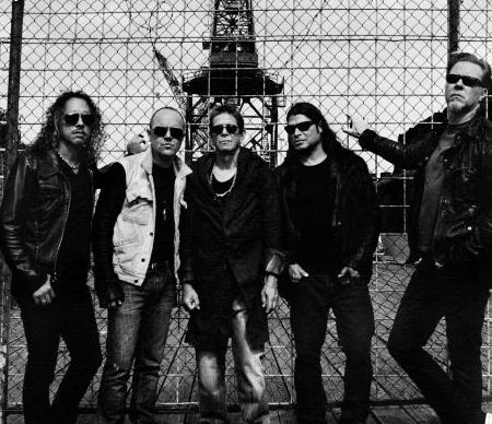 Metallica y Lou Reed