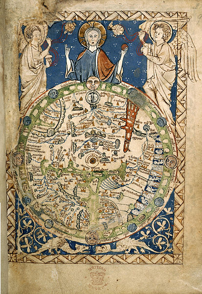 413px Psalter World Map c.1265