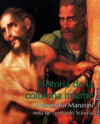 Alessandro Manzoni Historia de la columna infame 2