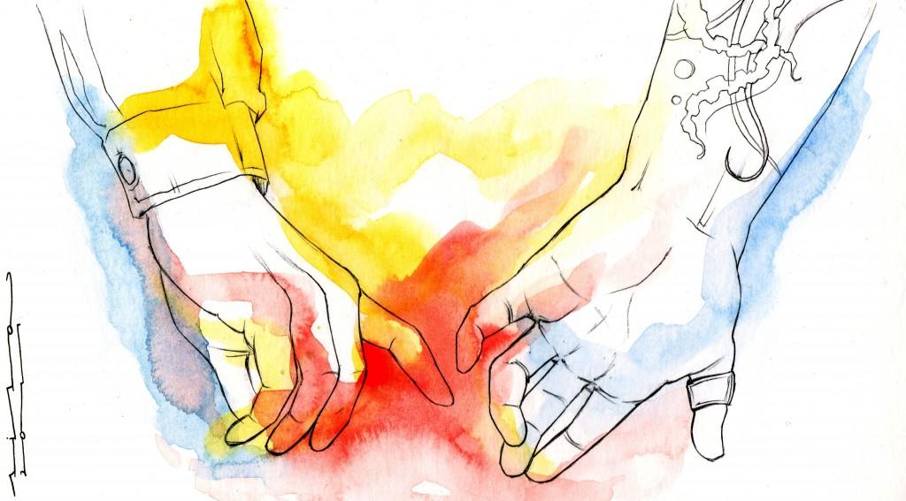 ilustración Y DE REPENTE