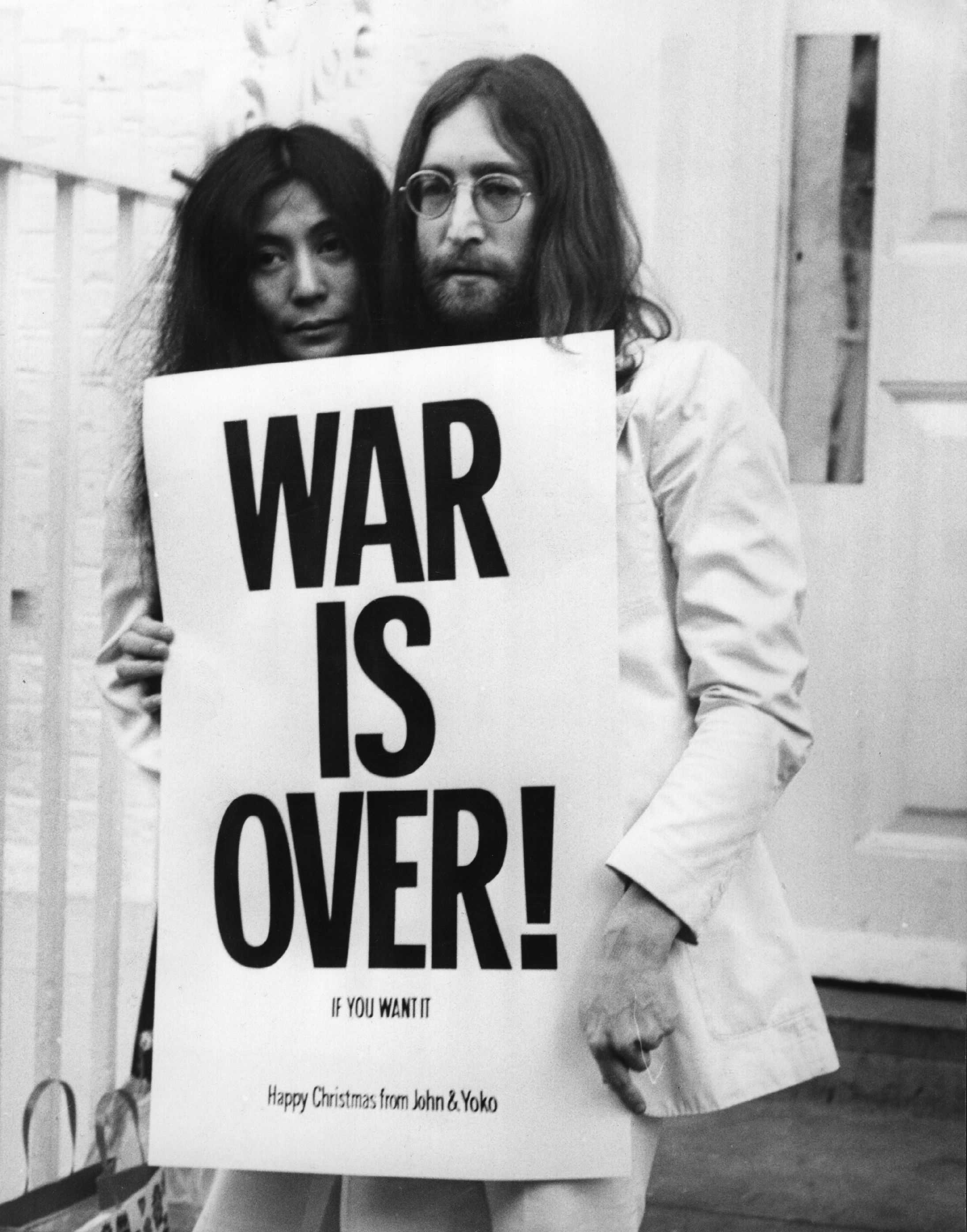 war is over de jonh lennon: