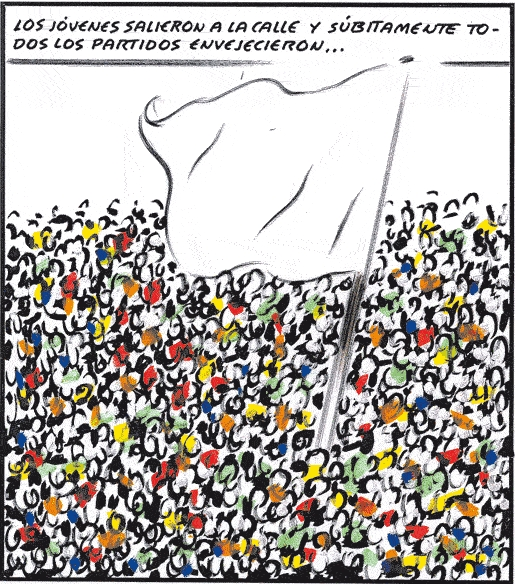 Viñeta publicada en El País el 18/5/11