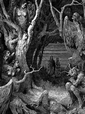 El bosque de las arpías gustav doré