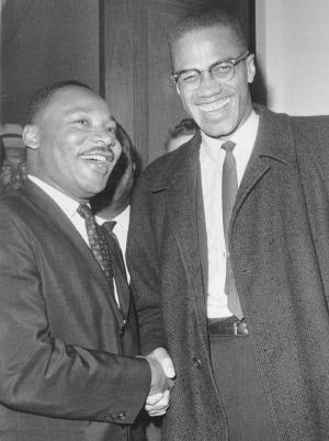 King y Malcolm X
