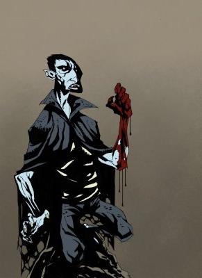 Vampiro por Mike Mignola