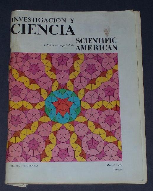 La revista Investigación y Ciencia, allá por 1977.