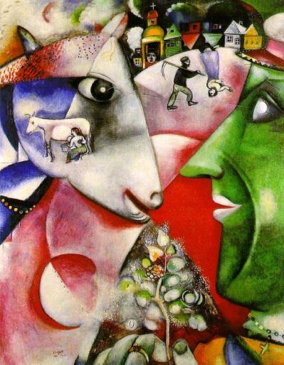 Marc Chagall moi et le village