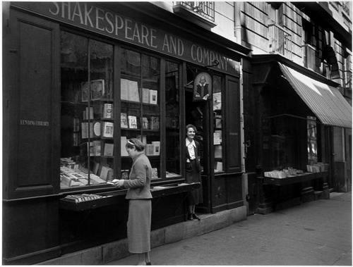 Sylvia Beach en Shakespeare and Company