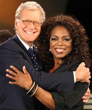 Letterman y Oprah