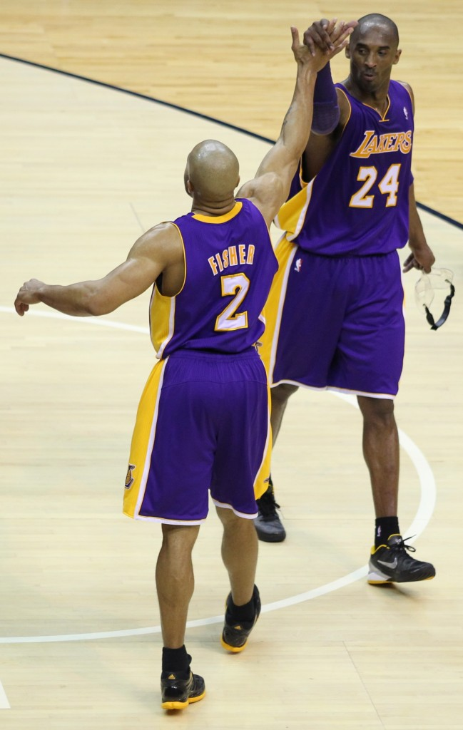 derek fisher and kobe bryant relationship with michael