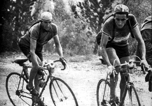 Gino Bartali y Fausto Coppi 2