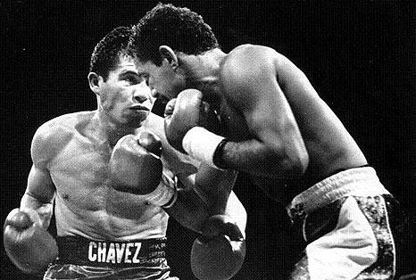 Julio César Chávez y Chapo Rosario