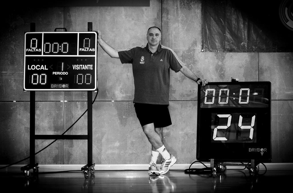 """Pablo Laso: """"Muchos partidos de la NBA parecen una pachanga"""""""
