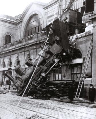 Accidente Montparnasse