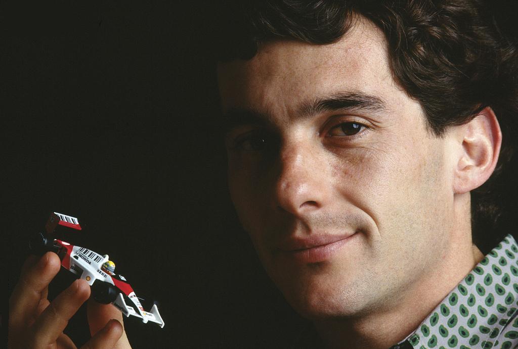 Fotografía perteneciente al Instituto Ayrton Senna