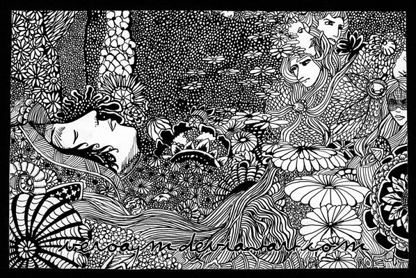 Ilustración de Harry Clarke para Morella