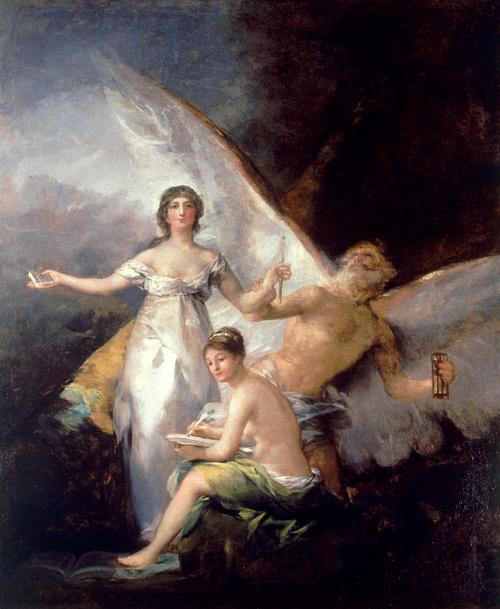Alegoría de la constitución de 1812 Goya