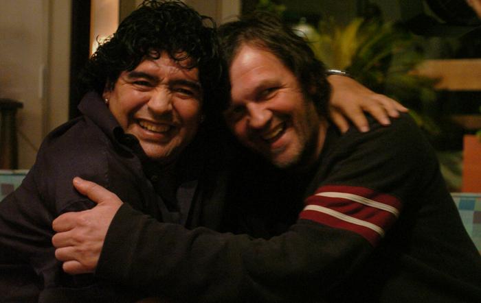Diego y Kusturica