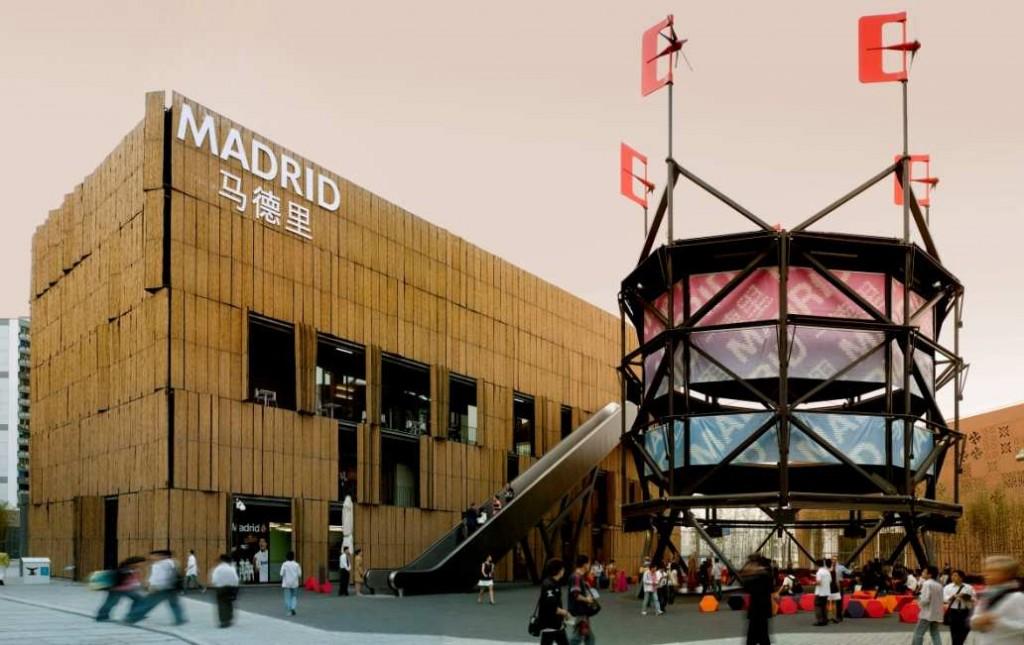 Pabellón de Madrid en la Exposición Universal de Shanghai