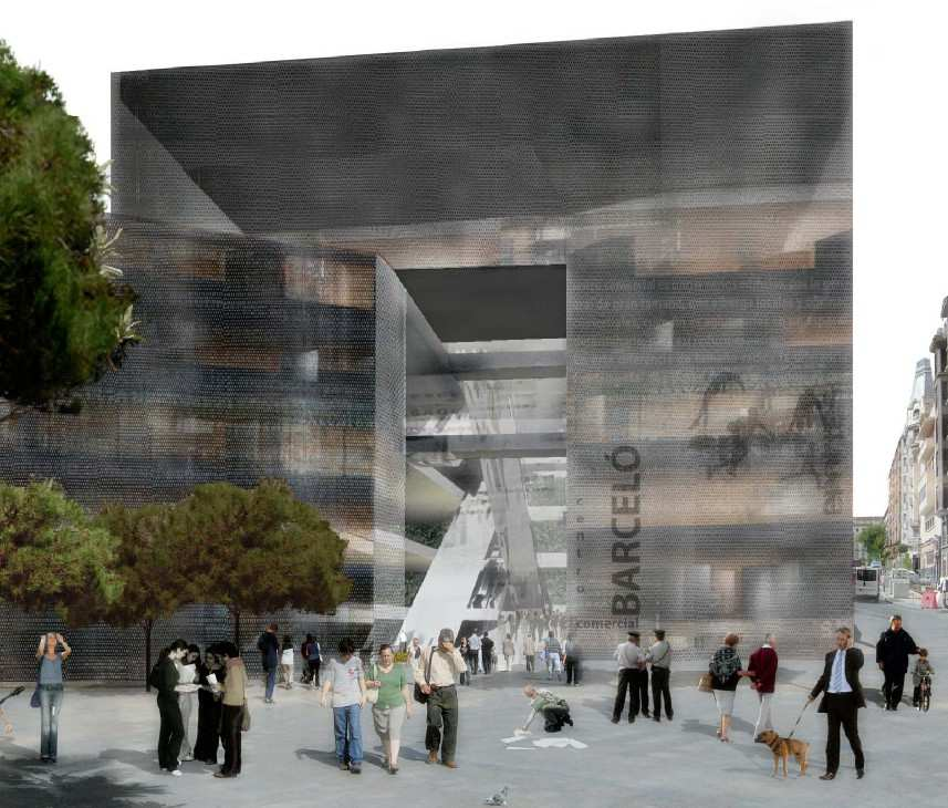 Proyecto para el Centro Comercial Mercado de Barceló