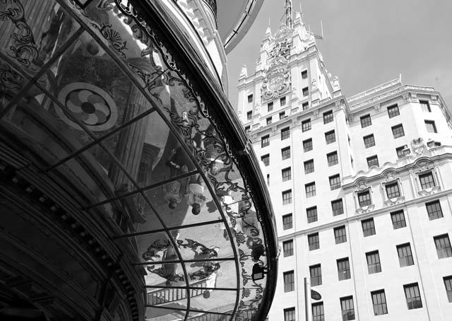 Madrid shopping mall
