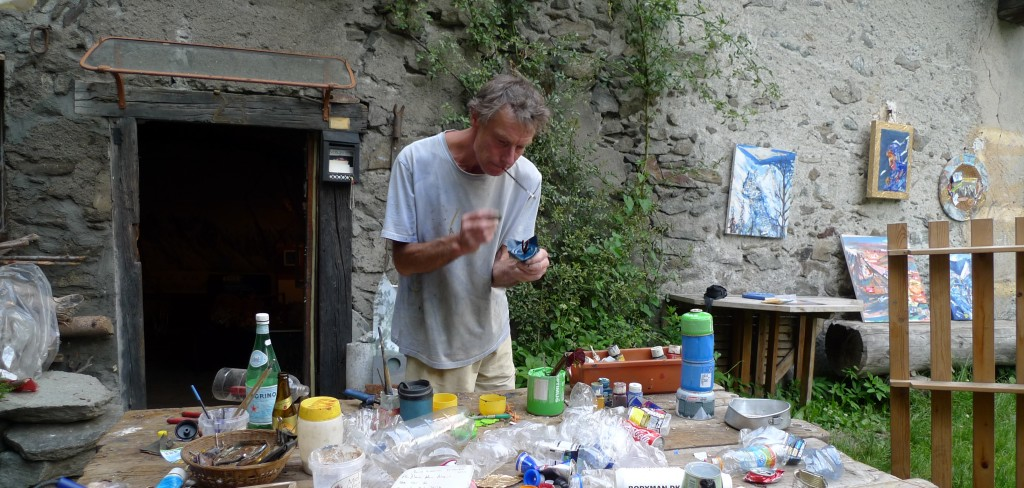 Andy Parkin Chamonix 20 junio 2012.