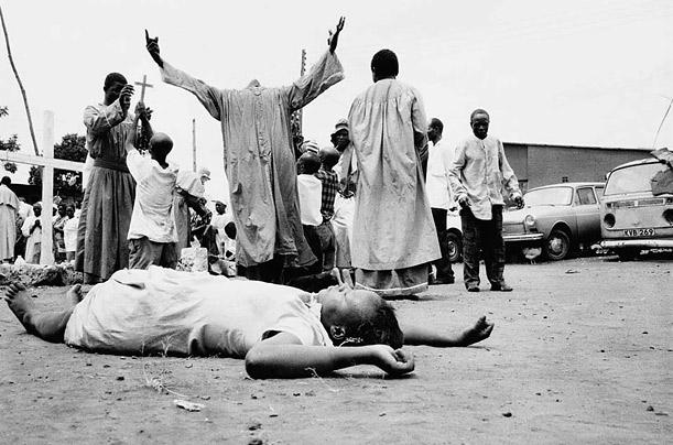 Exorcismo en áfrica