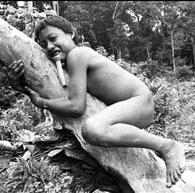 Con los indios z'oé del Amazonas