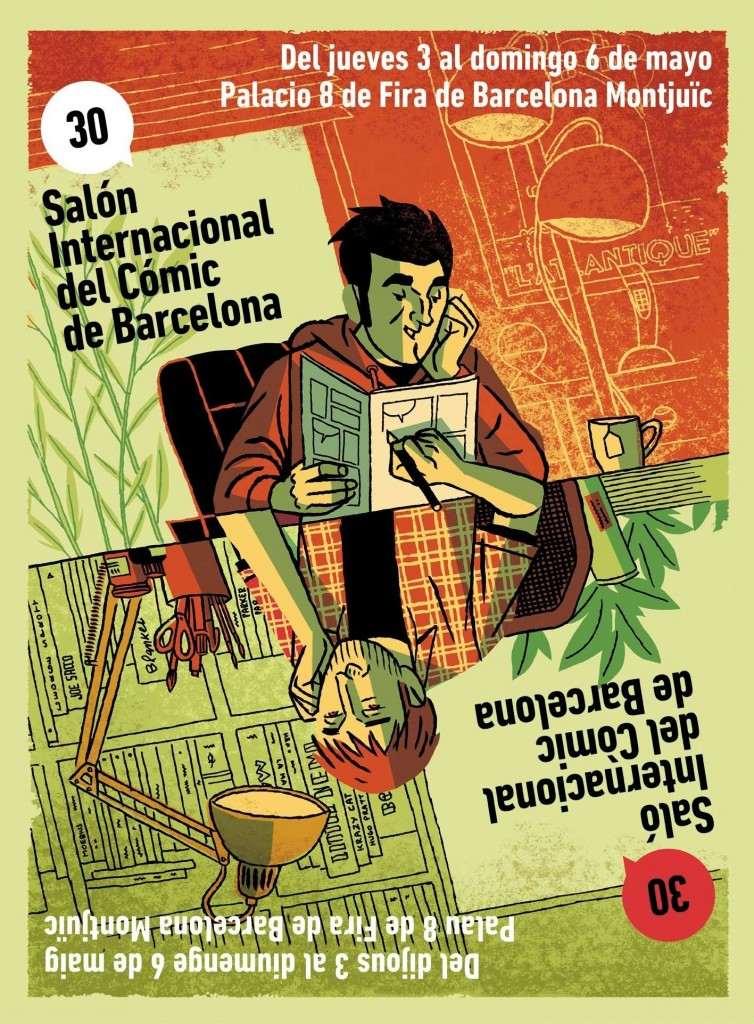 Paco Roca es el autor del excelente cartel de la edición de este año