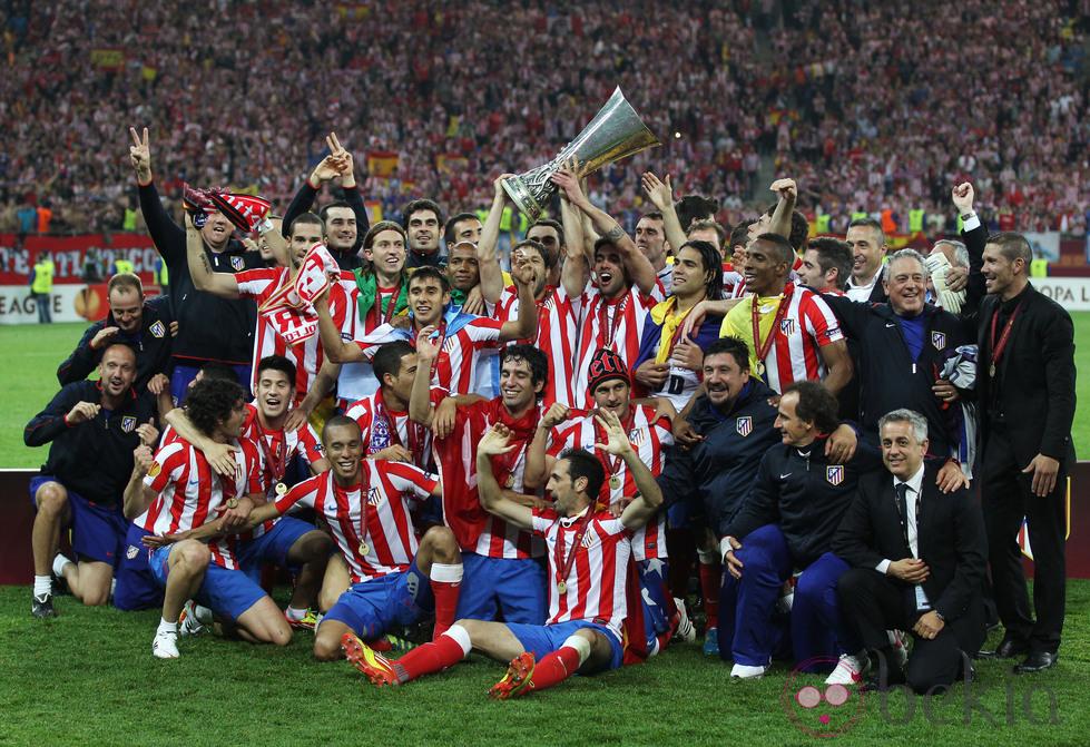 Atlético de Madrid europa league 2012