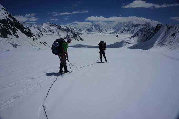 Descendiendo hacia el Snow Lake