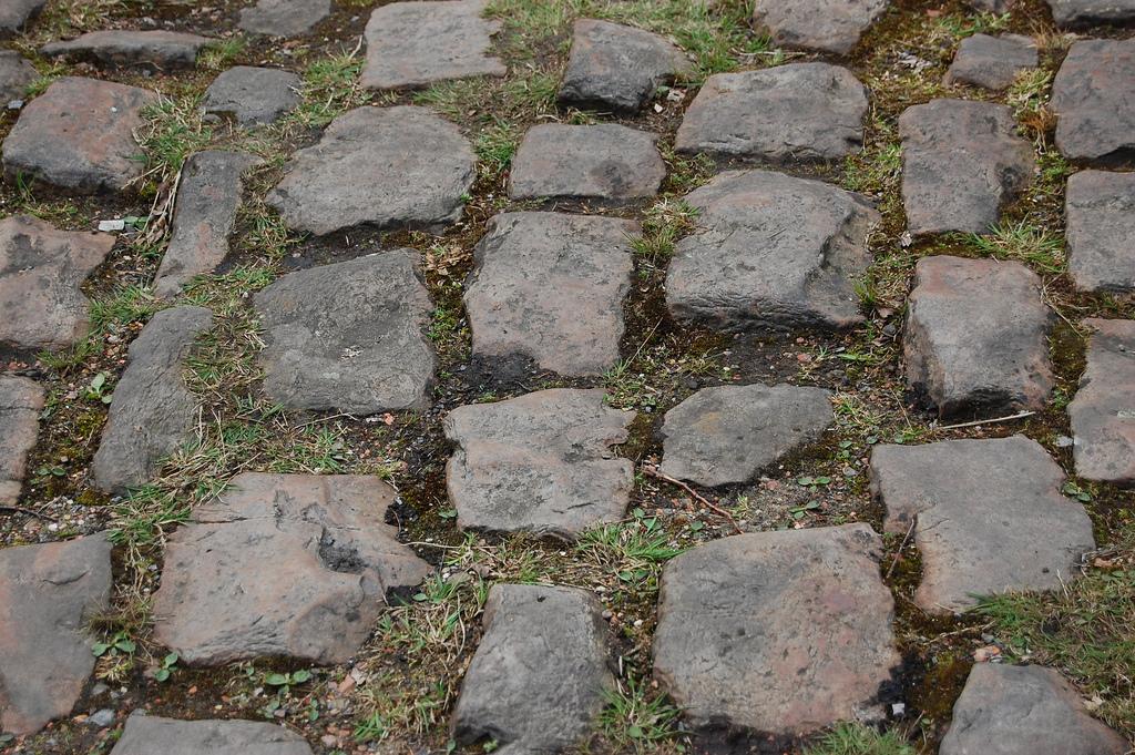 El famoso pavés de París Roubaix Foto de bram souffreau